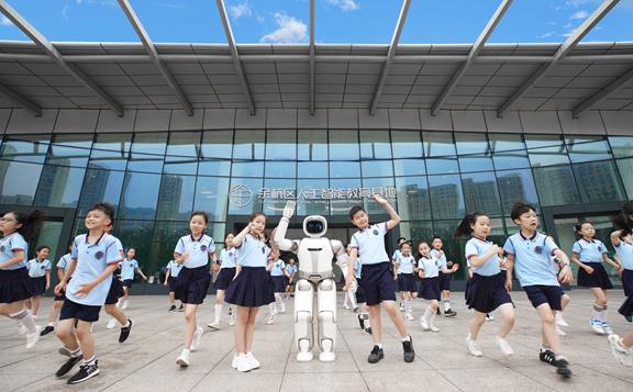 优必选科技与杭州市余杭区教育局联合落地人工智能教育项目