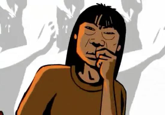 △Flash动画版《新长征路上的摇滚》MV(图片来自网络)