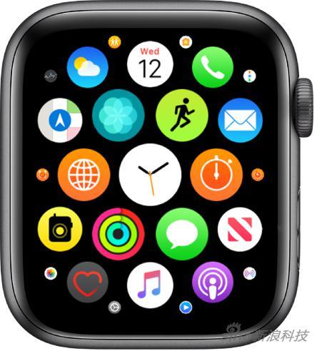 Apple Watch的应用图标界面
