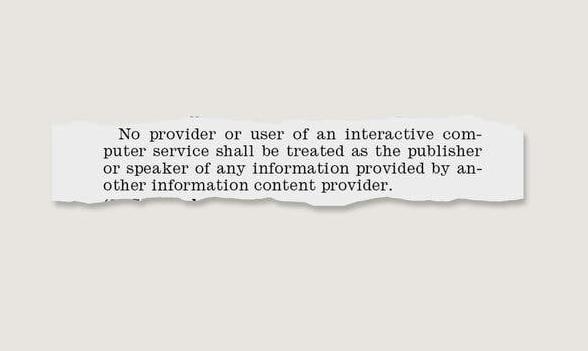 美国互联网将迎巨变:保护伞230条款真要没了?|观潮--九分科技