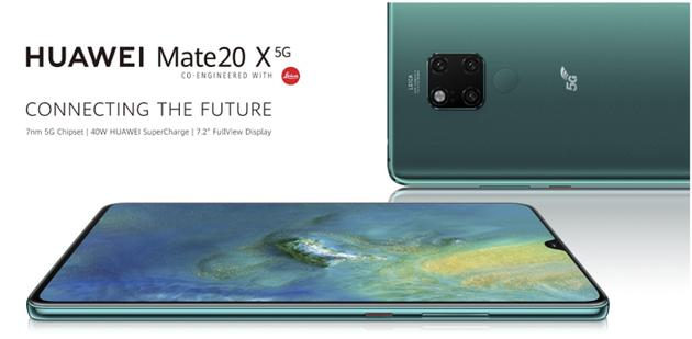 华为Mate 20 X 5G版正式登陆英国市场 999英镑起售