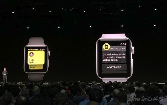 此前苹果手表的对讲机功能则完全是另一回事