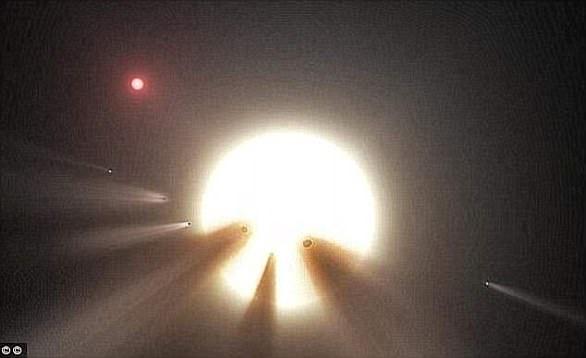 abby星又被标记为KIC 8462852,距离地球1400光年,从2015年被发现开始就令天文学家困惑不已。