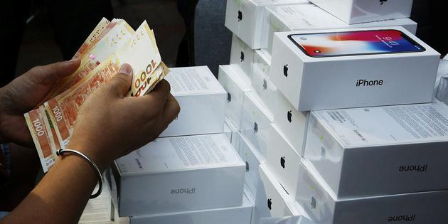 iPhone X二手价格高:平均售价达首次零售价的85%