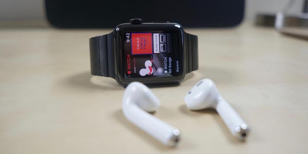 Apple Watch和Air Pods
