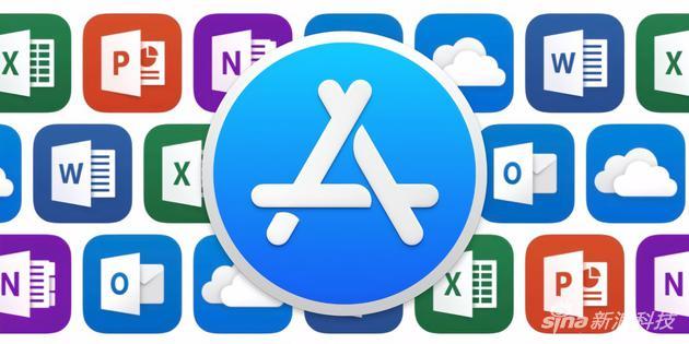 Office 365套件登陆Mac App Store