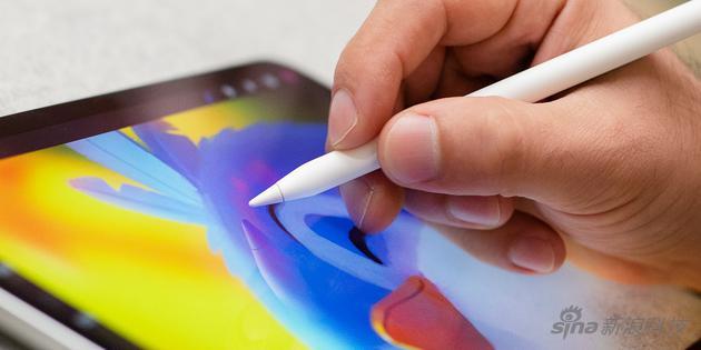 iPad Pro最先加入手写,是为了支持绘图等高精度操作