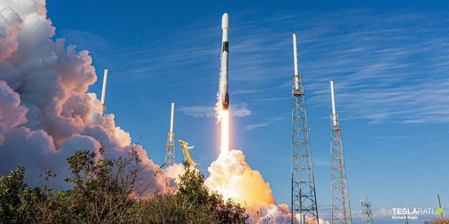 """馬斯克:今年""""獵鷹九號""""火箭發射次數將突破100次"""