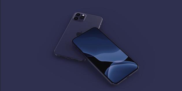 传iPhone 12将新增深蓝色版本:暗夜绿被替代 效果图曝光