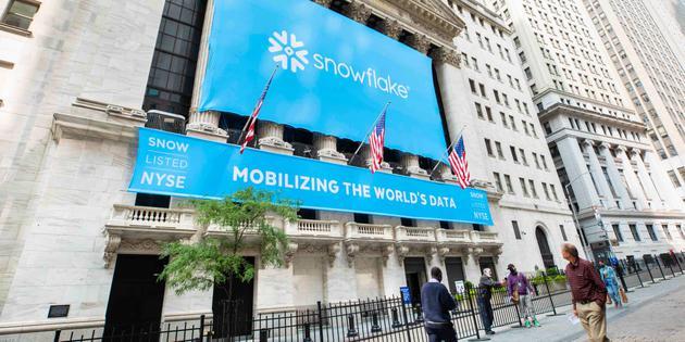 云计算公司Snowflake上市首日 开盘股价翻倍
