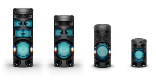 索尼在印度推出MHC系列四款音箱:这些音箱多少钱?
