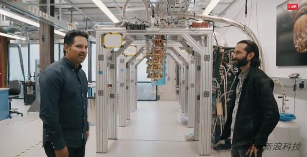 谷歌展示自己的量子计算机