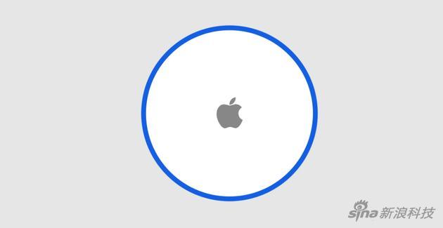 苹果版Tile可能是圆形