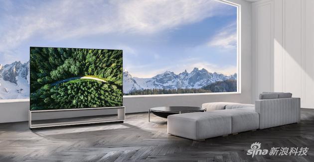 LG88寸8K OLED电视上市