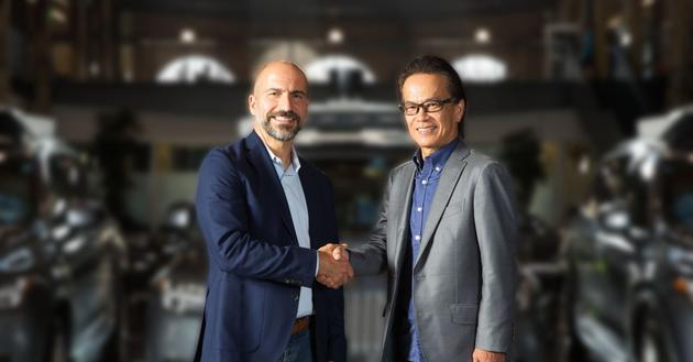 丰田向向网约车巨头Uber投资5亿美元 加...