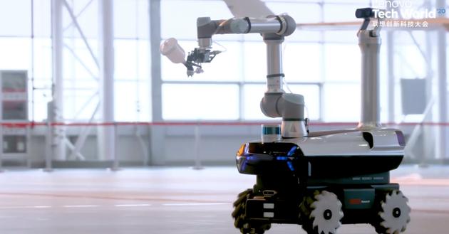 联想发布首款自研工业机器人