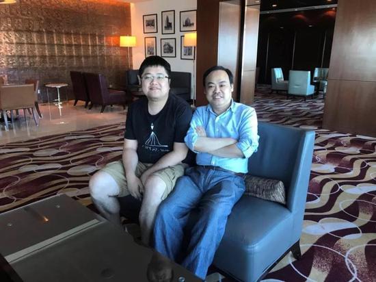 庄明浩(左)&左林大叔