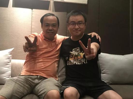 陈少杰(右)&左林大叔
