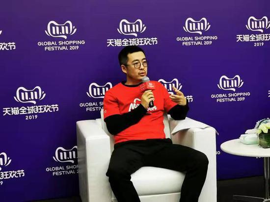 天猫、淘宝总裁蒋凡