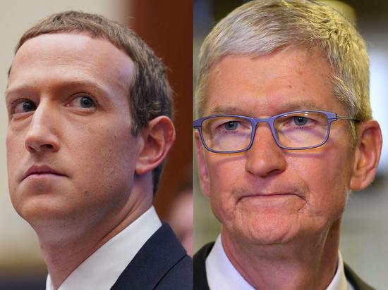 消息称Facebook准备对苹果发起反垄断诉讼