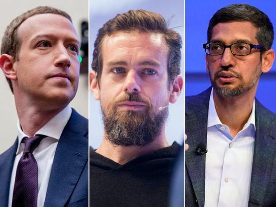谷歌臉書推特CEO將出席美國國會聽證會:闡述虛假信息審核問題