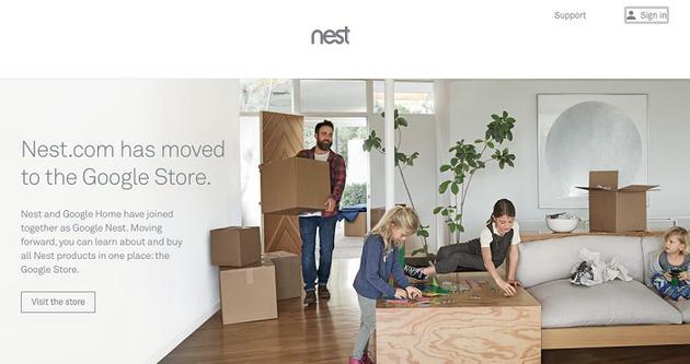 谷歌关闭Nest家居网站 产品整合到Google Store