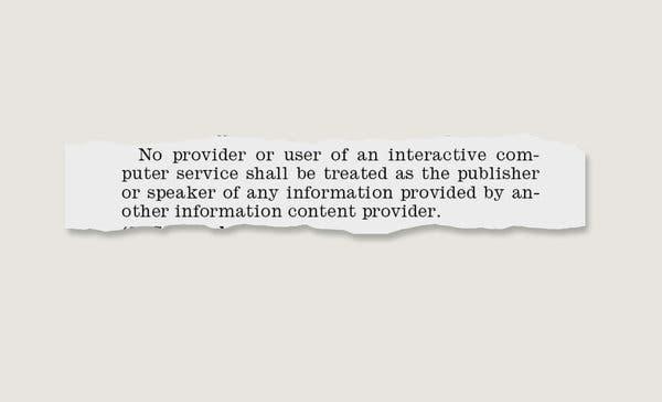 十字路口的互联网巨头:政治批斗、230条款和新自由主义