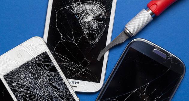 摔碎屏幕是我们经常会遇到的问题
