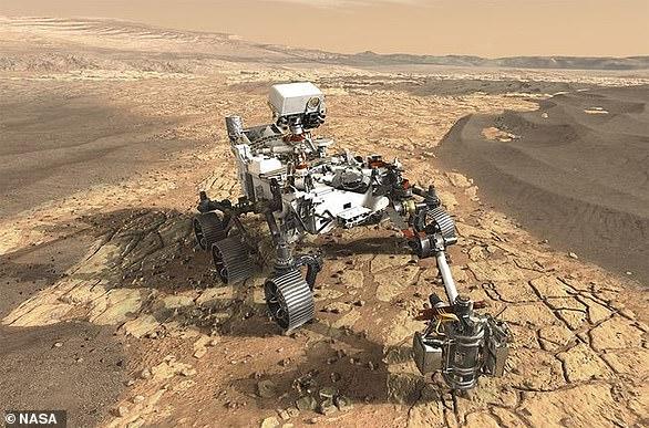 NASA的毅力号火星车将在火星上寻找古代生命的迹象(想象图),以帮助科学家更好地了解地球上的生命是如何进化的