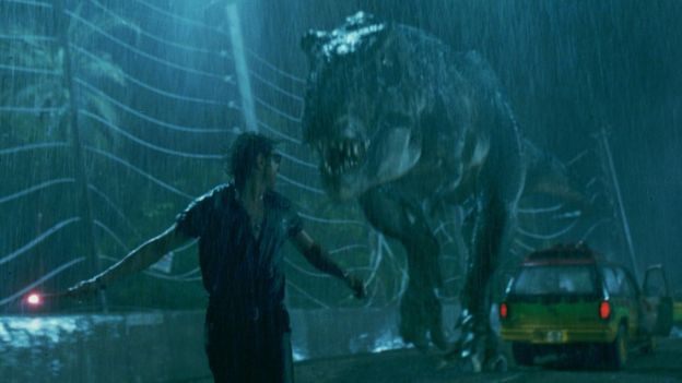 暴龙是《侏罗纪公园》里的经典形象。