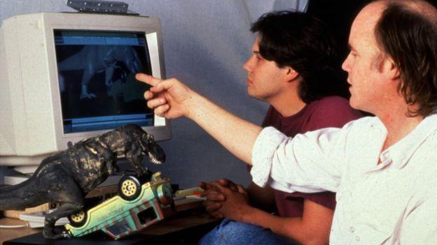 电影中的计算机动画场景经过了细致的编辑