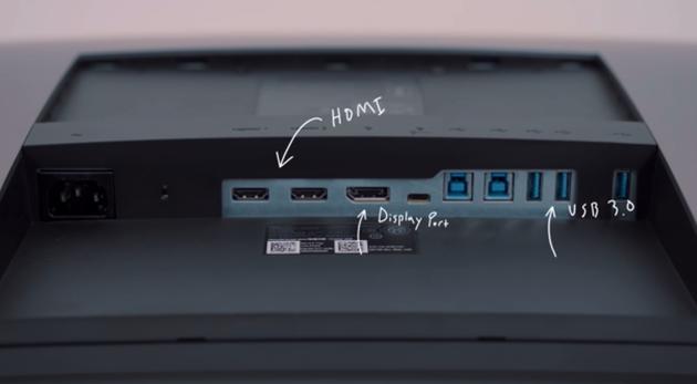 显示器上的多个接口