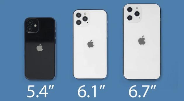 iPhone 12预计有4款