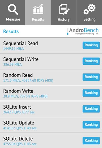 一加7 Pro读写测试