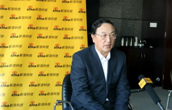 2008年,柳传志接受新浪科技专访