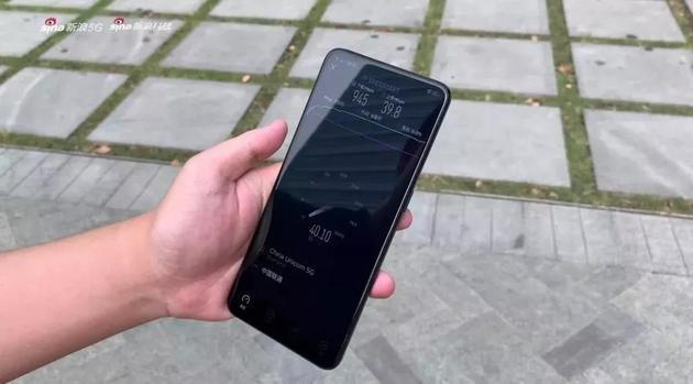 ▲往期节目中在上海5G测速