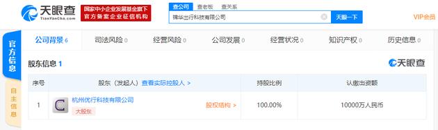 曹操出行在杭州成立新公司,注册资本1亿人民币--九分网络