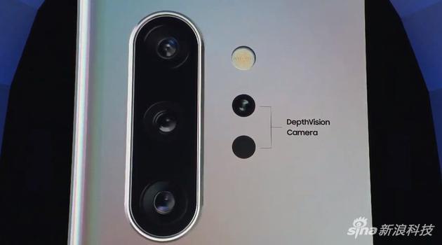 三星Note10后置三摄像头+景深摄像头
