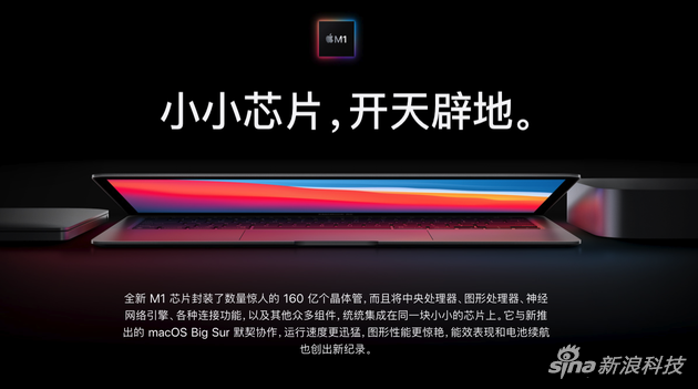 Three Macs with M1 chip released