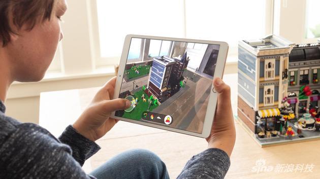 iPad上的AR应用