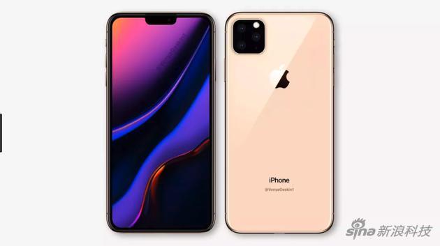 据说2019款iPhone主要改变在背后摄像头部分