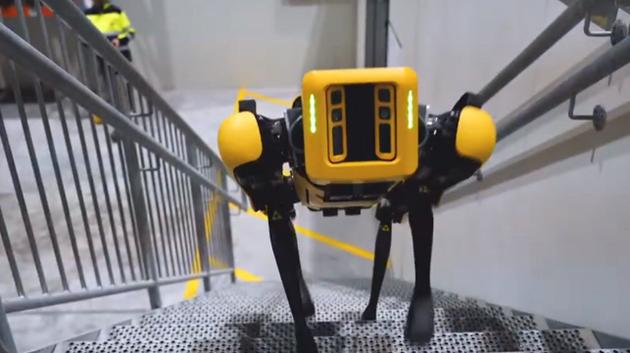 Spot是挪威石油公司Aker第一个拥有自己员工编号的机器人