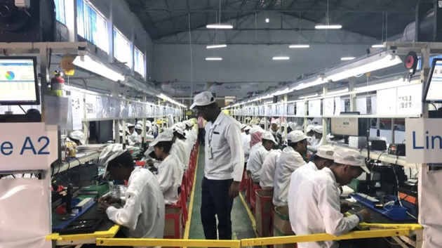 Transsion's assembly factory in Addis Ababa, Ethiopia