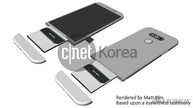 LG的模块化手机概念图