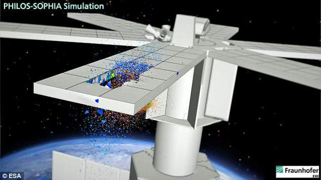 模拟实验将为太空碰撞事件提供更有用的信息,帮助科学家估计可能会产生多少碎片。