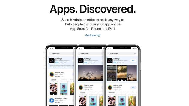 苹果进一步推广搜索广告:又有欧亚6国开发者可使用