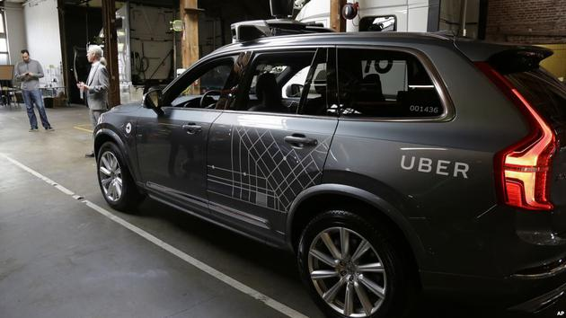 Uber提交安全报告 自动驾驶测试项目停摆7月后或重启