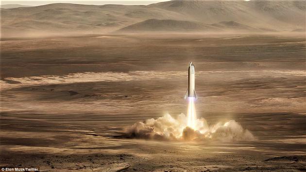 火星登陆_展开新一轮太空竞赛:nasa计划25年内人类登陆火星