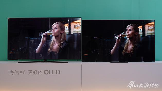 即将在AWE上发布的新品OLED电视产品A8