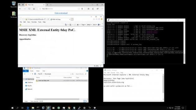 IE 11瀏覽器漏洞:處理MHT保存會被竊取PC文件